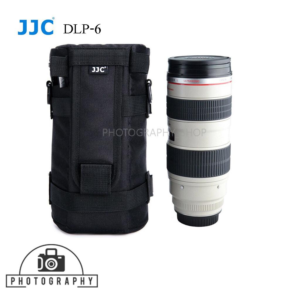 กระเป๋าใส่เลนส์กล้อง Jjc Bag Lens Pouch Dlp-6 กันกระแทกอย่างดี.