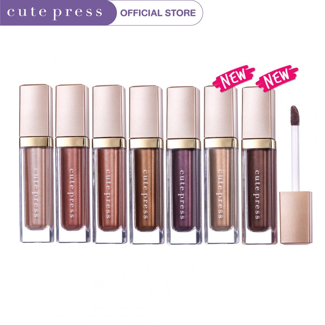 Cute Press อายแชโดว์ Liquid Chrome Eyeshadow.