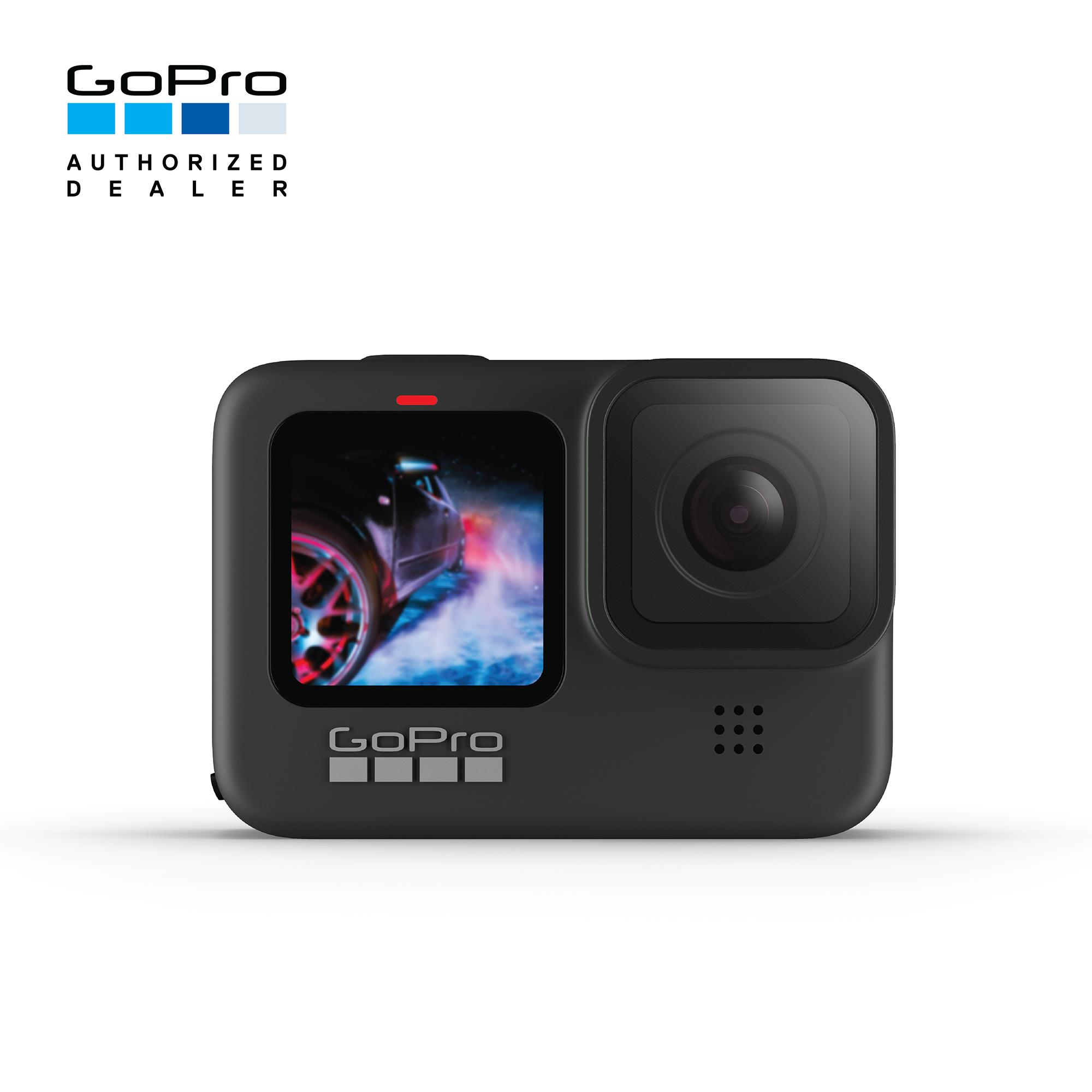 Gopro Hero9 Black กล้อง Action Camera กันน้ำได้สูงสุด 10 เมตร ถ่ายวีดีโอ 5k, Full Hd 240fps ภาพนิ่ง 20mp โหมดกันสั่น Hypersmooth 3.0 ในตัว.