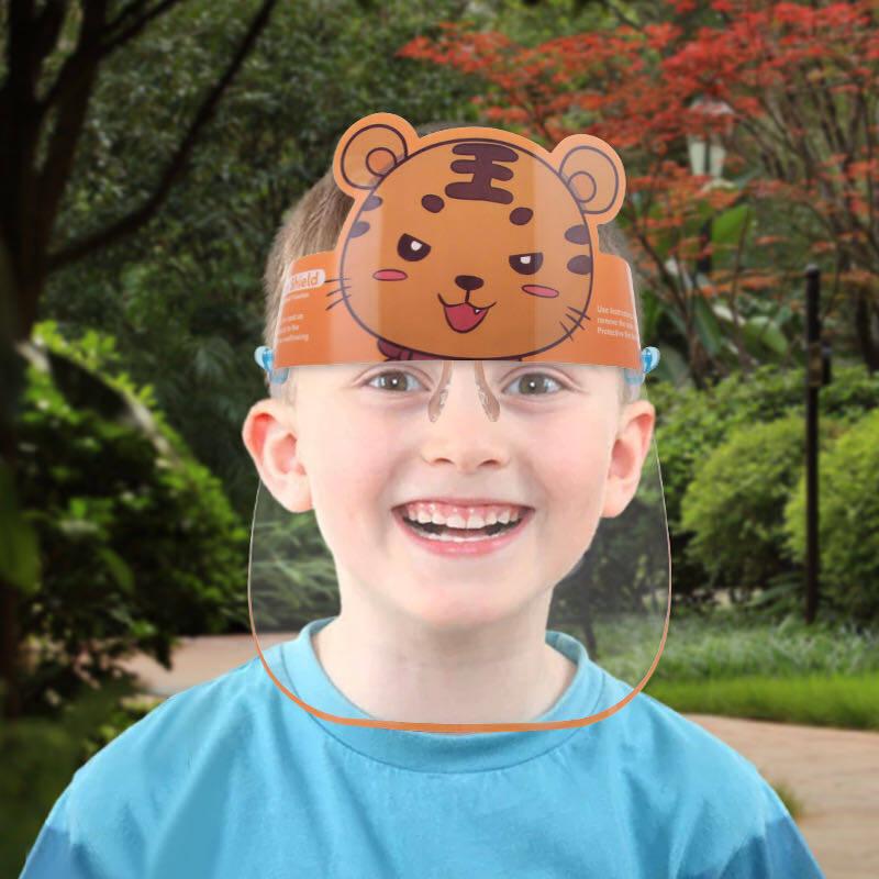 Babyonline(r261)l1เฟสชิวป้องกันฝุ่นลายการ์ตูนสำหรับเด็ก.