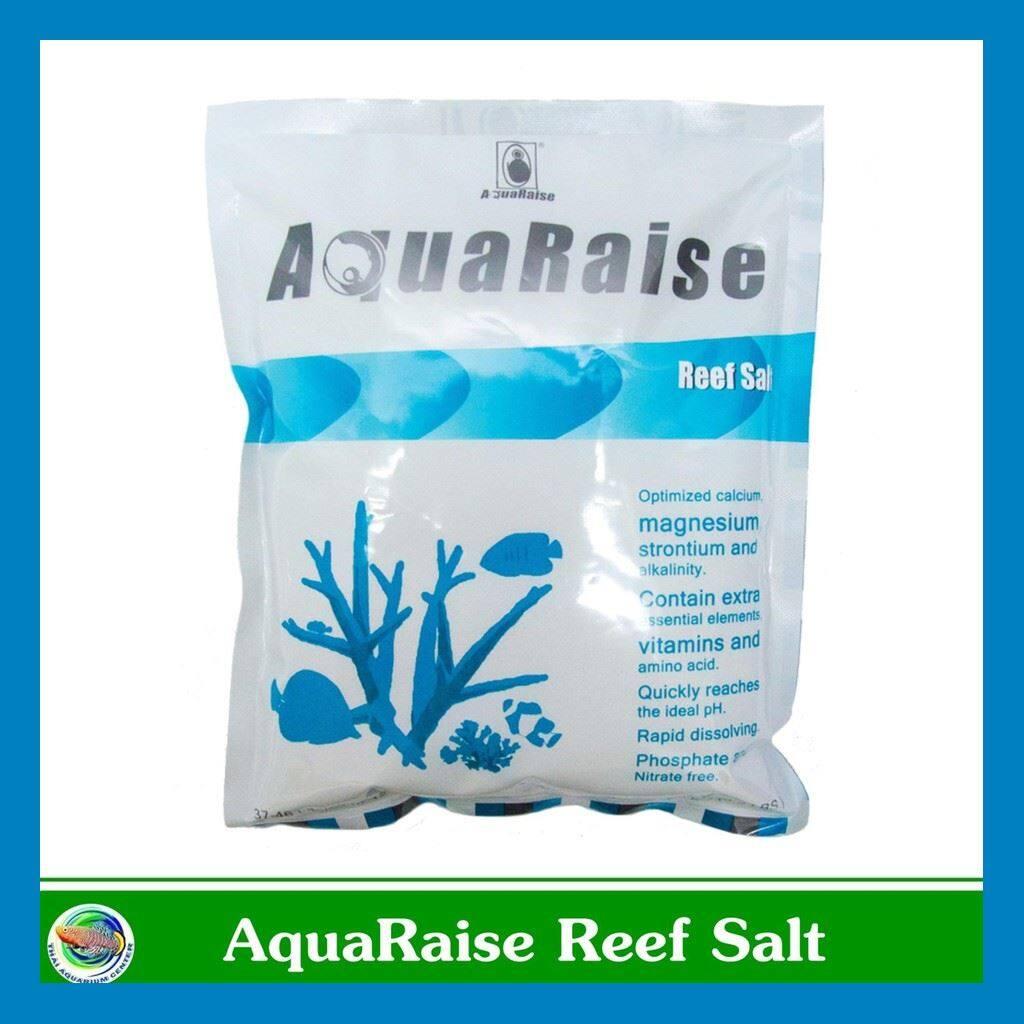 ร้านแนะนำ >>Aquaraise Reef salt เกลือสำหรับทำน้ำทะเล ใส่ตู้ปลาทะเล ขนาด 6 kg << มีเก็บเงินปลายทาง