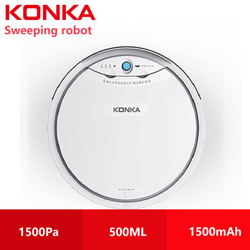 KONKA sweeping robot Household automatic vacuum cleaner scrubbing, mopping and sweeping machine KJD067 หุ่นยนต์กวาด