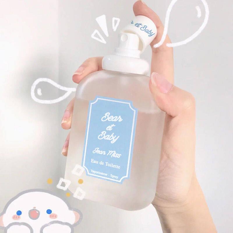 พร้อมส่ง!! น้ำหอม Bear&baby 50ml น้ำหอมกลิ่นนมสด พีช ลูกแพร์ ส้มโอ แป้งเด็ก-1145.