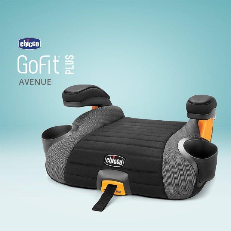 Chicco คาร์ซีท Go Fit Plus Backless Booster Seat/ 100% แท้