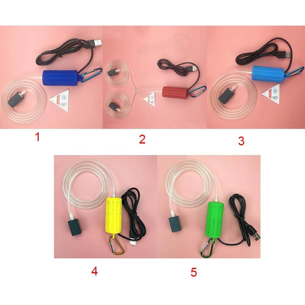สต็อก USB Air Bubble Aerator ปั๊ม Hydroponic ออกซิเจนสำหรับพิพิธภัณฑ์สัตว์น้ำตู้ปลา