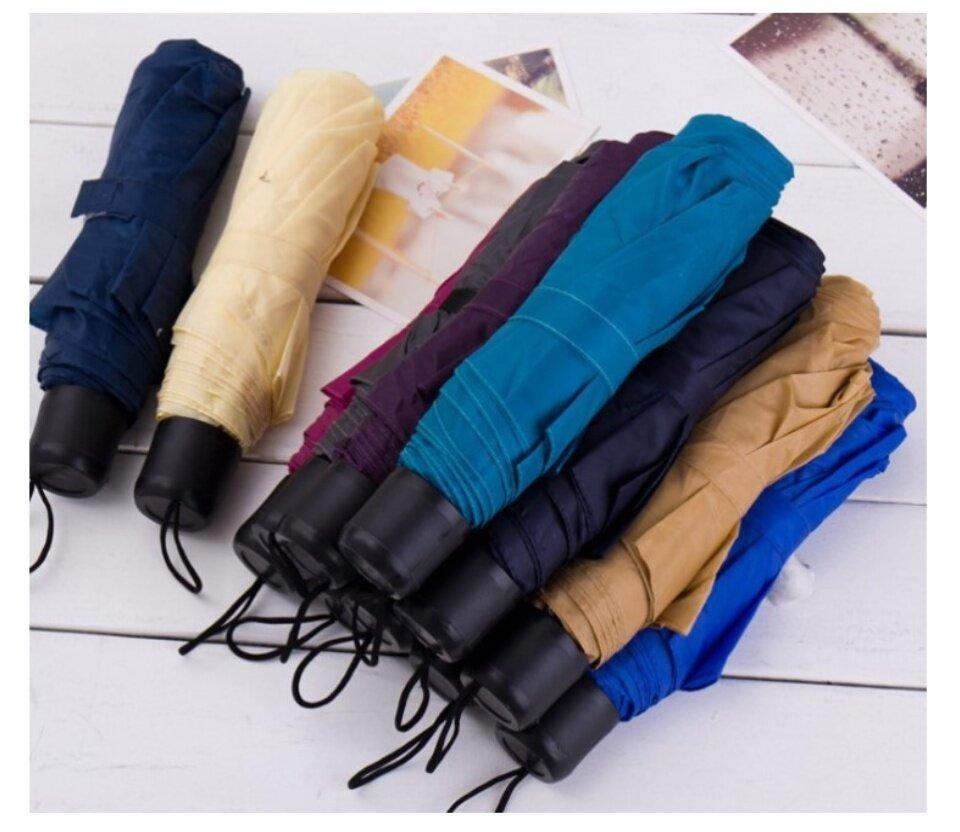 D&Coutdoor ร่มพับ 3 ตอนสำหรับพกพา กางร่มหรือหุบร่มได้ กันได้ทั้งฝนและแดด ร่มพับ กันแดดกันฝน ร่มกันแดดป้องกันรังสียูวี ขนาดเล็ก สำหรับผู้หญิง ร่มพับขนาดพกพา ร่มพับ หลากสี