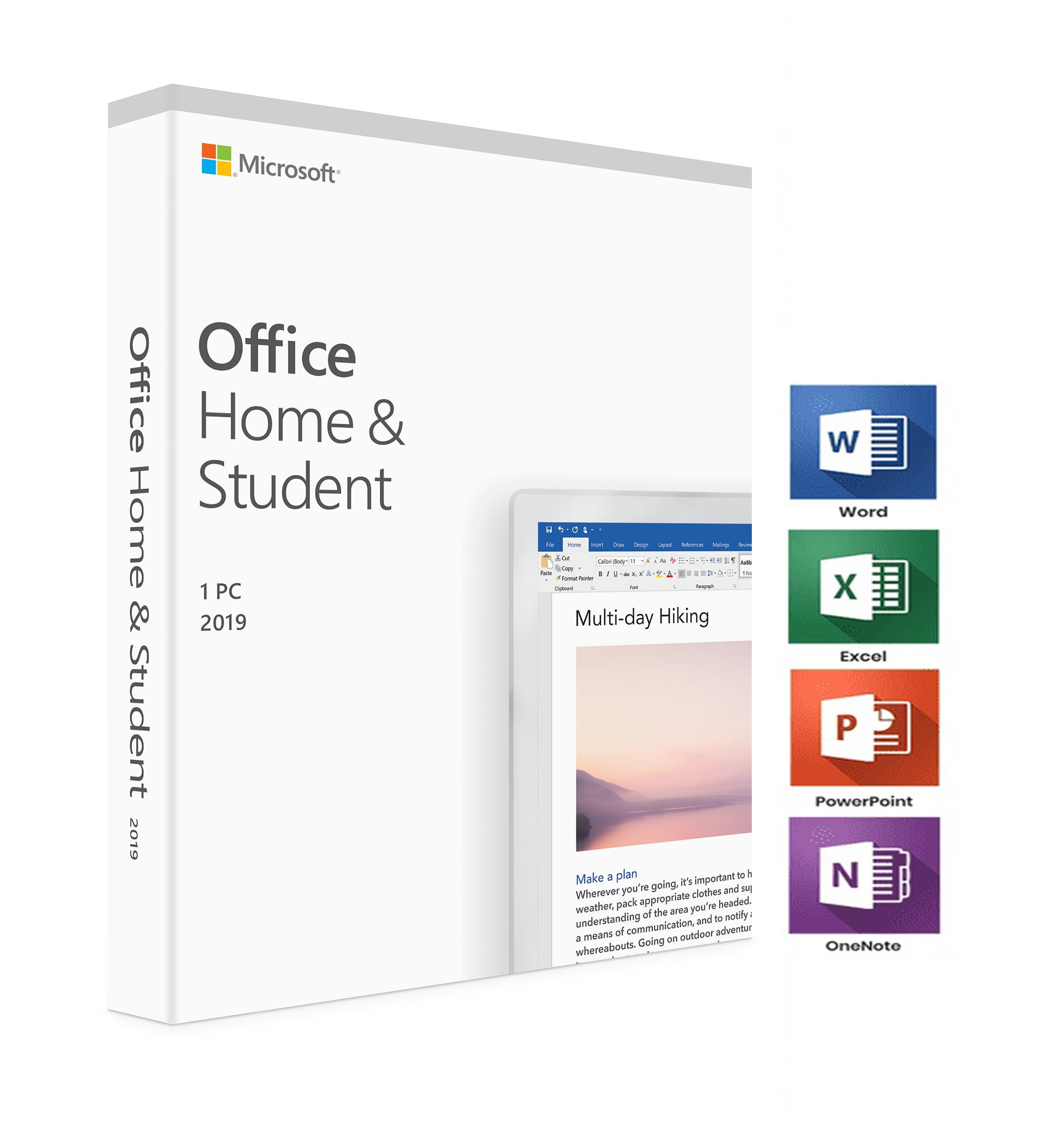 Microsoft Office 2019 Home And Student ถาวรย้ายเครื่องได้.