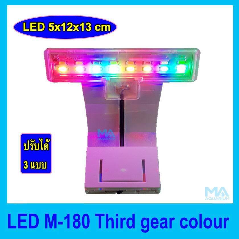โคมไฟเล็ก Mini LED-M180 multicolor 3 step เม็ดไฟหลายสี เปิดได้ 3 แบบ