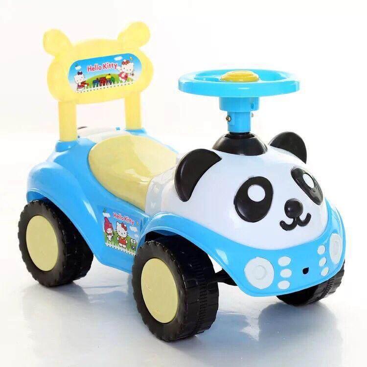 รถขาไถเด็ก มีเสียงเพลง เบาะนั่งเปิดปิดได้.