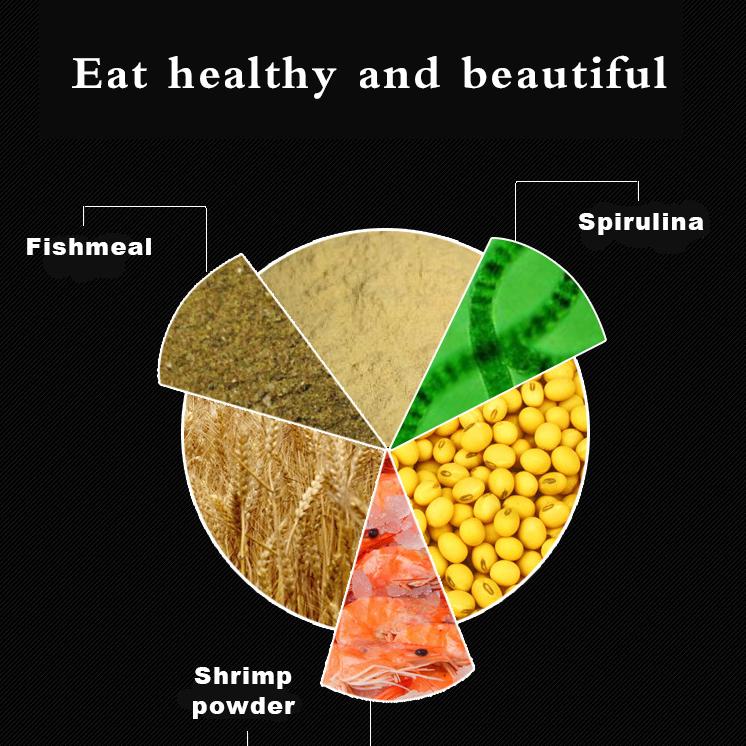 อาหารปลาคาร์ฟ สูตรป้องกันปลาป่วย เม็ด 300ml ประมาณ 150 กรัม Koi fish food