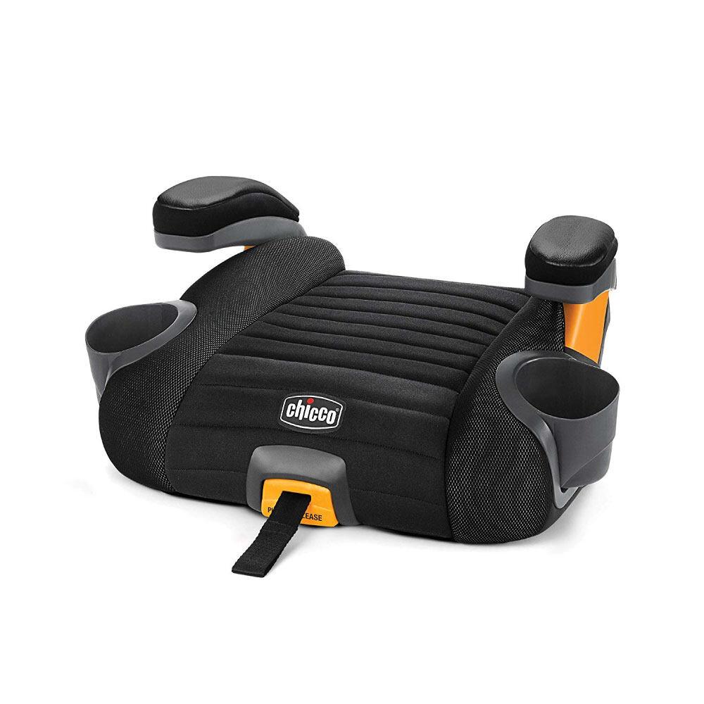 Chicco คาร์ซีท Go Fit Plus Backless Booster Seat คาร์ซีทแบบเบาะนั่งเสริม สำหรับเด็กน้ำหนัก 18-49.89 กิโลกรัม มาพร้อมระบบล็อก Isofix เพื่อเพิ่มความกระชับแน่นมากขึ้น.
