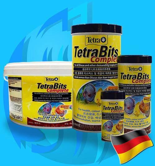 อาหารปลาปอม TetraBits Tetra Bits Cpmplete 100ml 300ml 1000ml 3600ml 30g 93g 300g 1150g