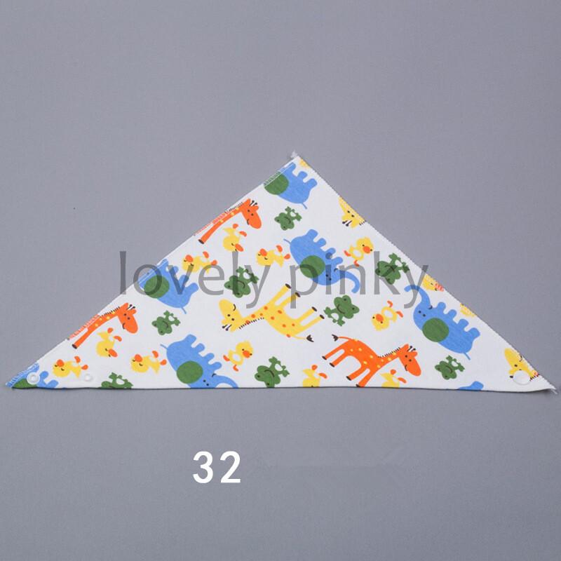 ?พร้อมส่ง? ผ้าซับน้ำลายผูกคอแบบสามเหลี่ยมBABY BIBS