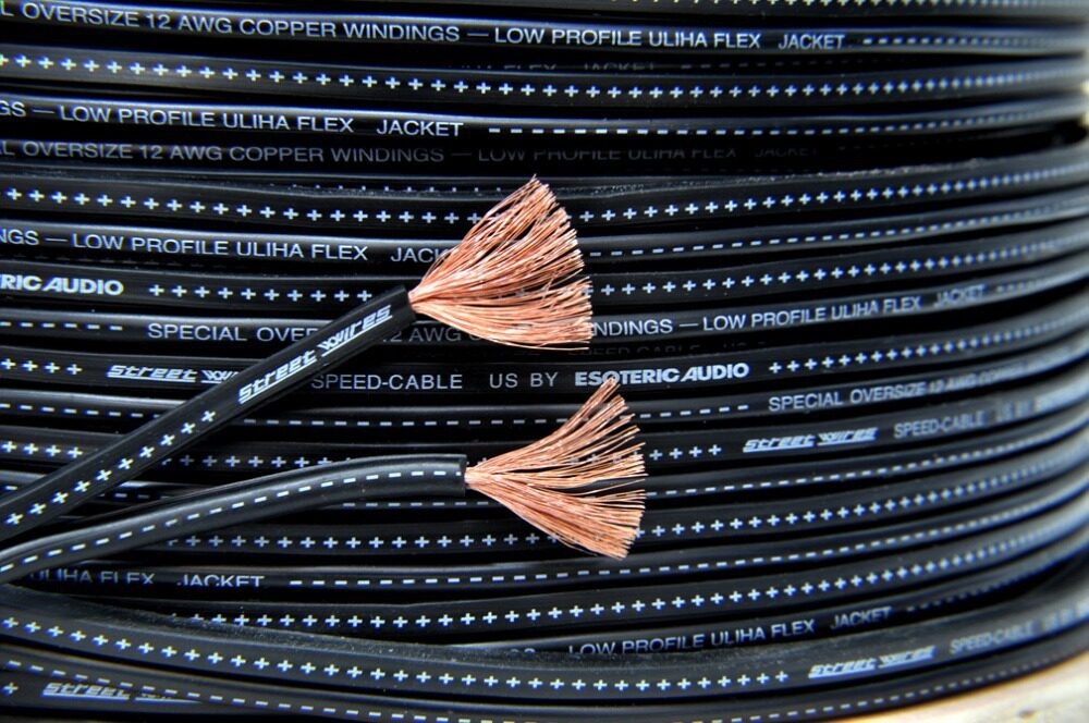 สายลำโพง Street Wire By Esoteric Audio เบอร์ 12 Awg (oversize).