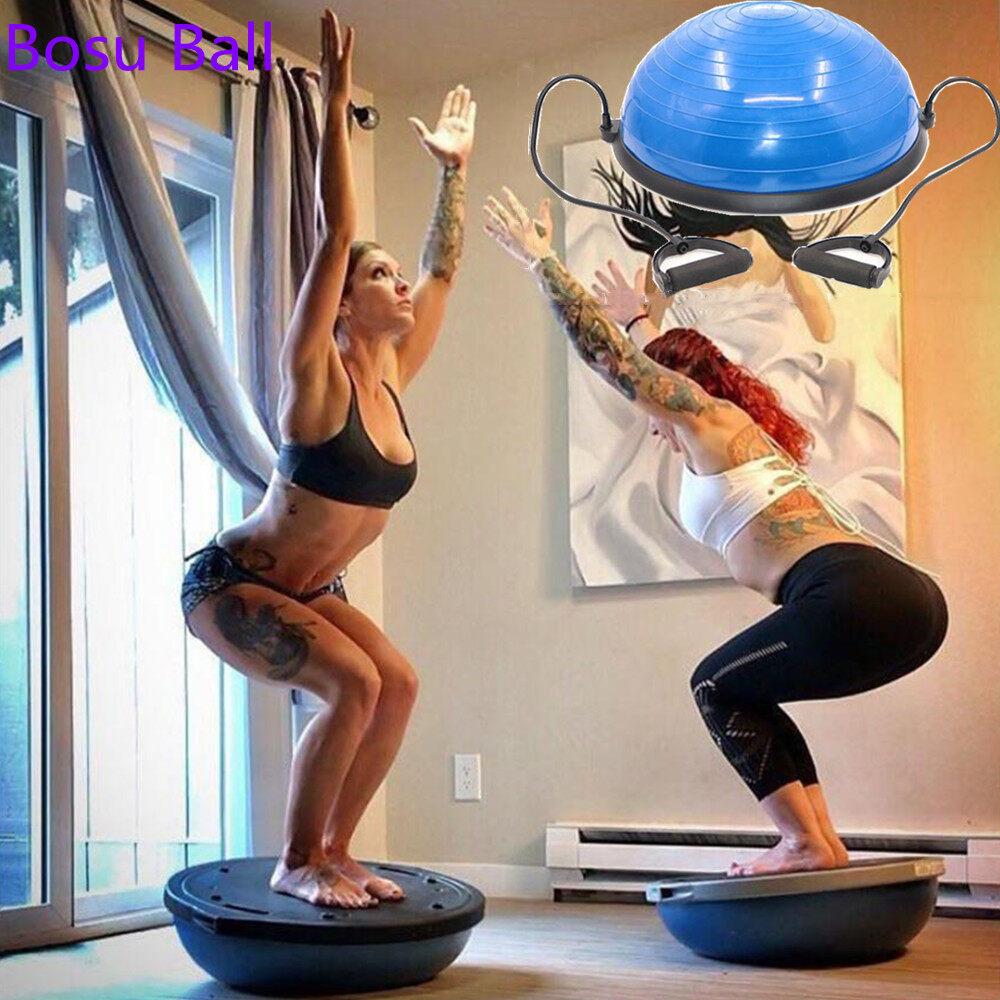 ฟิตเนส BOSU ลูกโยคะ hemisphere สมดุลลูกคลื่นลูกความเร็ว ลูกบอลครึ่งวงกลม โบซู่บอล Bosu Ball, Balance Ball, Exercise Ball Trainer Fitness Ball Yoga Ball เทรนเนอร์บอล บอลสำหรับโยคะ ลูกบอลออกกำลังกาย
