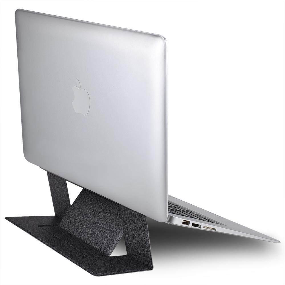 พร้อมส่ง??ขาตั้งแล็ปท็อป notebook & macbook & laptop แบบพกพา ใช้ได้ทุกรุ่น ทุกขนาด ที่วางnotebook ปรับระดับได้ ใช้งานสะดวก ขาตั้ง Slimพับเก็บได้ง่าย ช่วยลดอาการเมื่อยคอ/หลัง/ไหล่ตึง