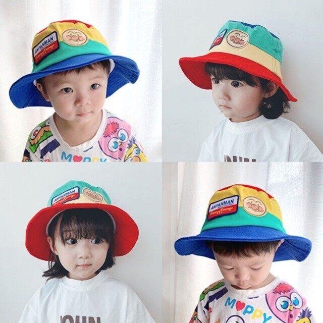 [พร้อมส่ง] หมวกบักเก็ตเด็ก Anpanman