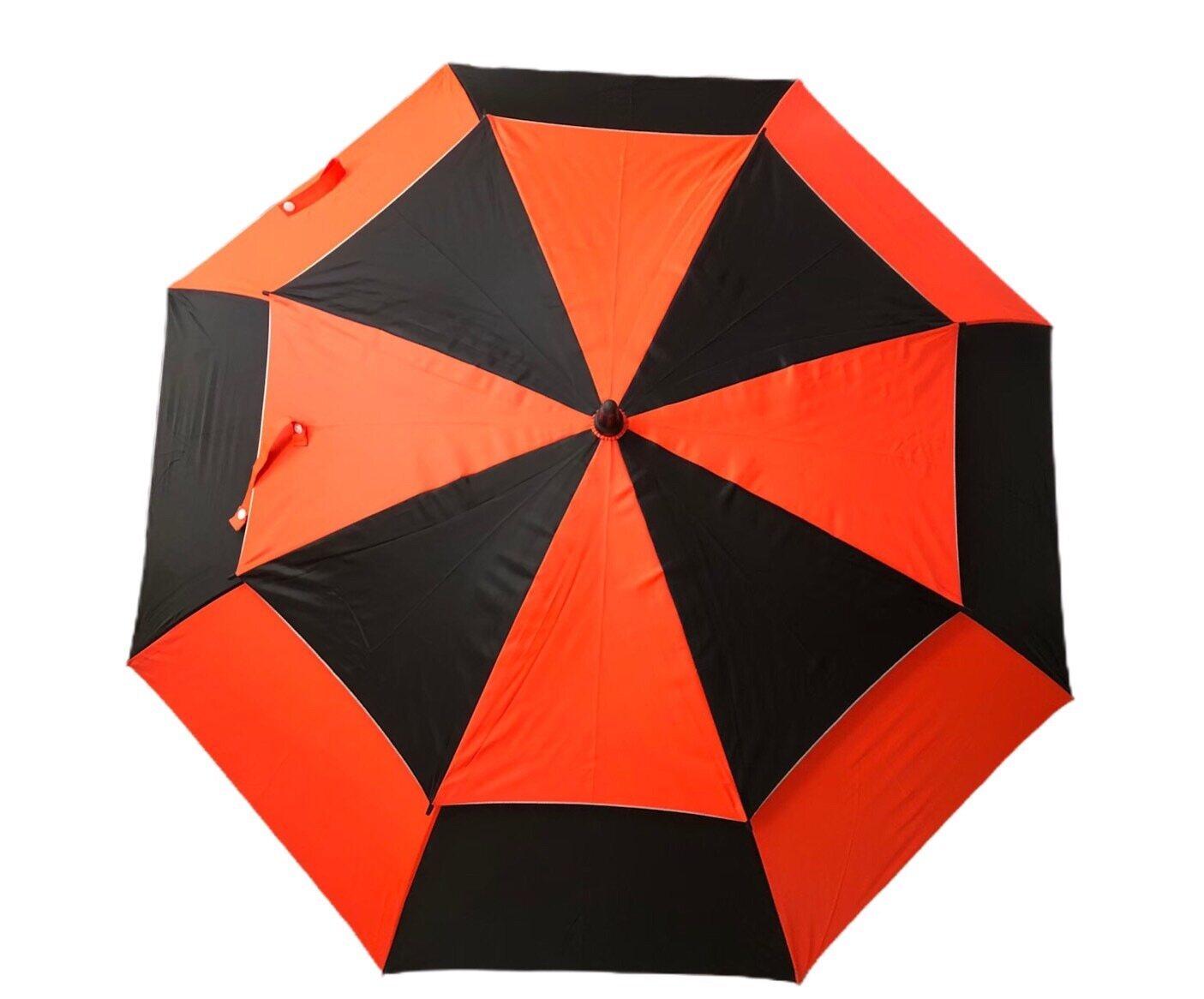 ร่มกอล์ฟ 2 ชั้น กัน Uv ขนาด 32 นิ้ว แกนออโต้ Golf Umbrella.