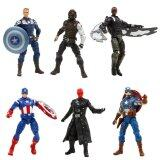 Hasbro Captain America Winter Soldier (6 ชิ้น)