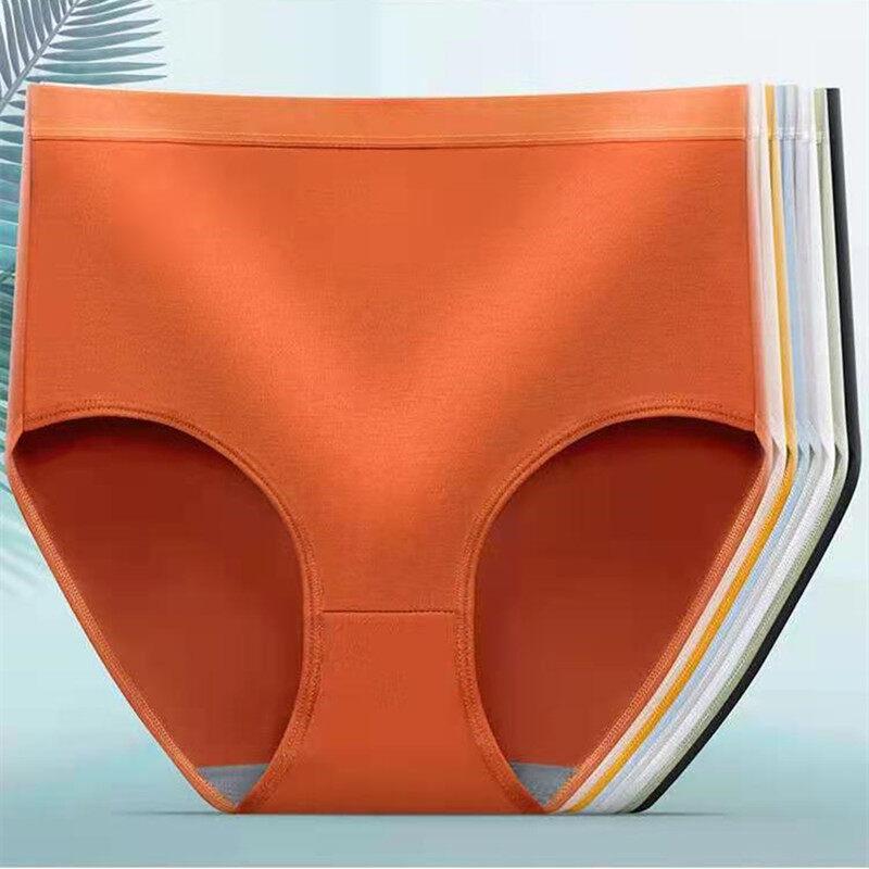 กางเกงชั้นในมาการองเอวสูง สุดคุ้ม เอวสูงเก็บพุง ผ้าfiber ยืดหยุ่นได้ดี ไซส์ใหญ่มีไซส์ให้เลือกถึง 2xl ? Panties.