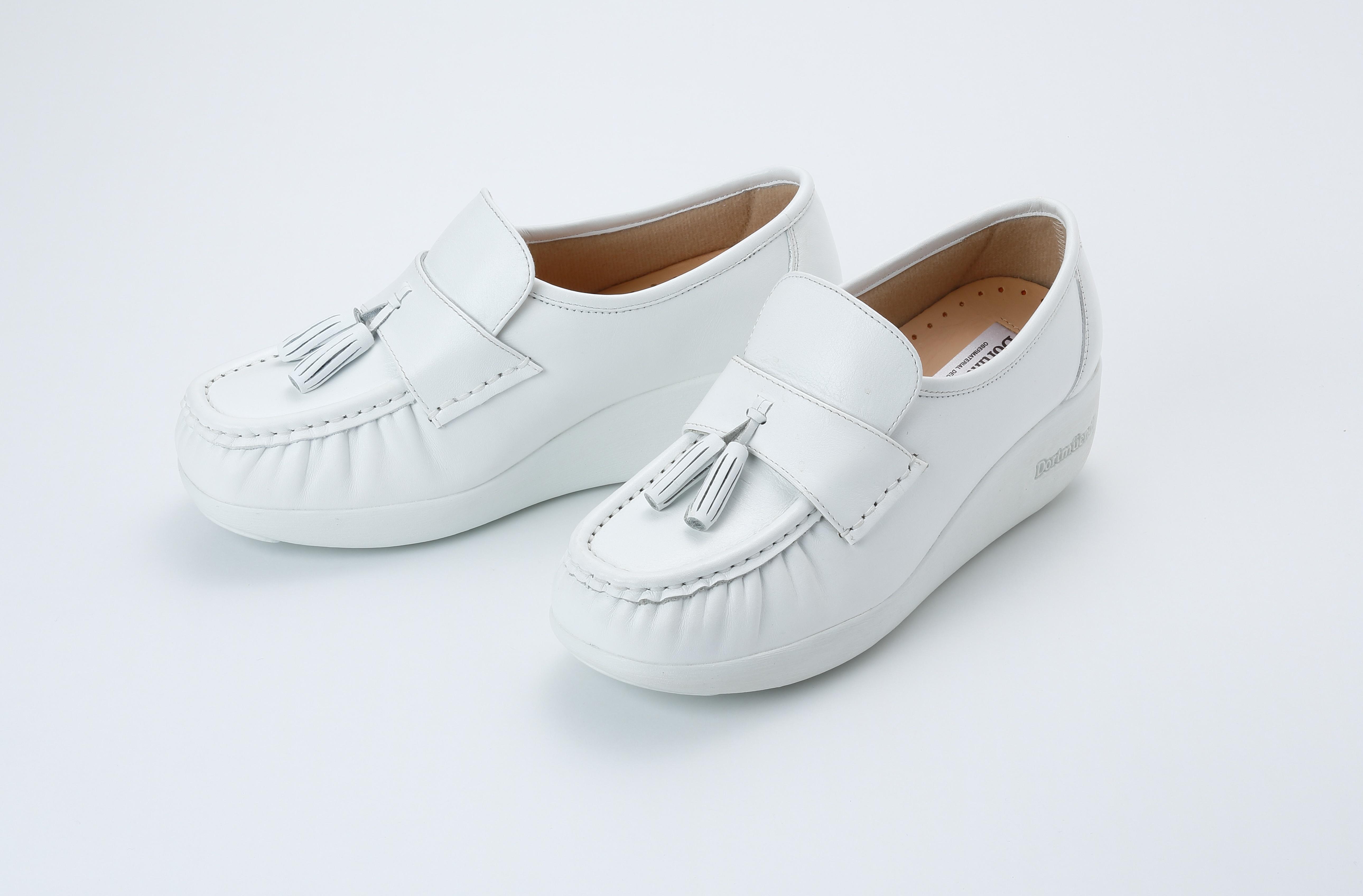 Js901-White Dortmuend Proseries รองเท้าสุขภาพ รองเท้าหมอ รองเท้าพยาบาล รองเท้าครู รองเท้าเชฟ รองเท้าเดินนาน ยืนนาน.