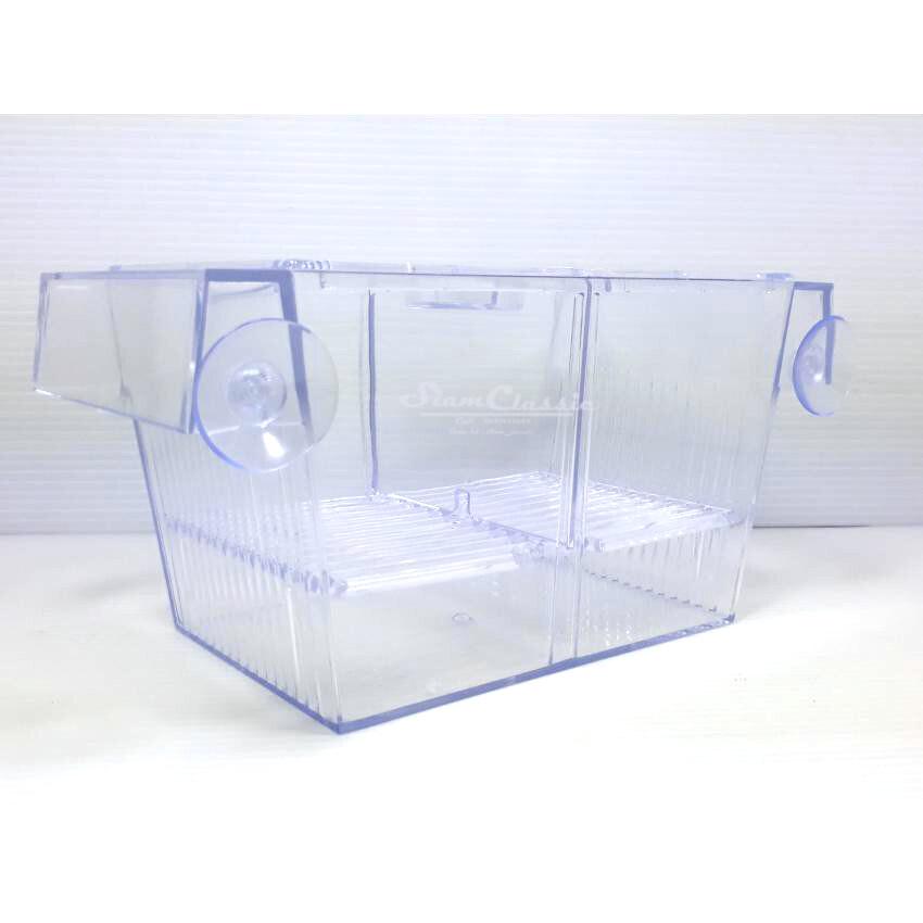 กล่องแยกเลี้ยงปลา กุ้ง ในตู้ปลา Breeder Box