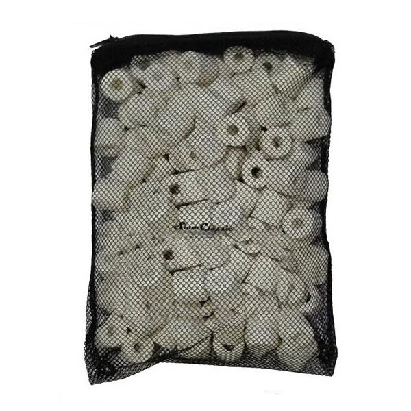 TIP Ceramic Ring 500 g. (เซรามิคริง มีรูพรุนสูง ใช้เป็นที่อยู่ของจุลินทรีย์ สำหรับทำระบบกรอง