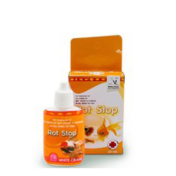 White Crane Rot Stop ผลิตภัณฑ์สำหรับป้องกันและรักษาโรคเน่าเปื่อยและเชื้อราทุกชนิด 100 ml.