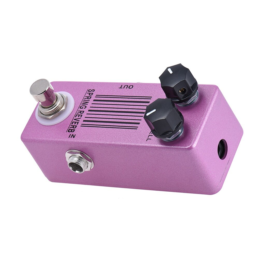 Features: Boasting a super small size with low noise, and a near bottomless depth of spring reverb sound. Mix pot to balance dry/wet degree.