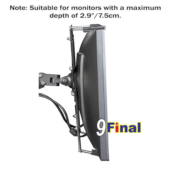 Nb F80 By 9final Gas Strut Desktop Single Monitor Stand
