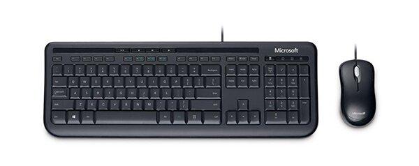 Microsoft Keyboard + Mouse HW Desktop 600 Wired Optical