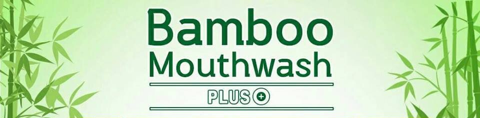 ผลการค้นหารูปภาพสำหรับ Bamboo Mouthwash Plus แบมบู เม้าท์วอช พลัส