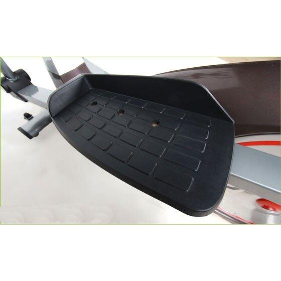 แท่นวางเท้าใหญ่ ออกแบบมาเพื่อรับน้ำหนักได้ 120 กิโลกรัม