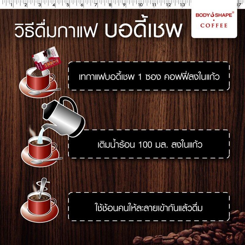 วิธีดื่มกาแฟ บอดี้เชพ