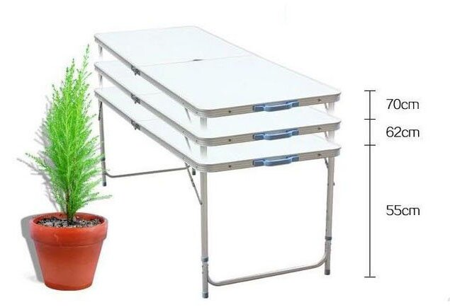 adjustable height picnic table