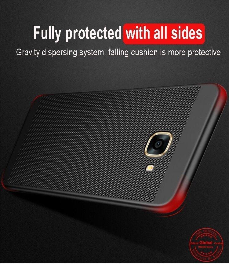 รายละเอียดของสินค้า Rzants เคส For Galaxy J7 Prime Ultra thin Heat dissipation Hard Back Case เคส For Sam sung Galaxy J7 Prime – intl