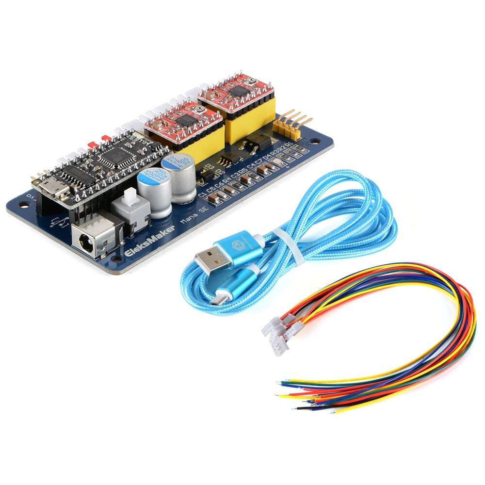 2 Axis Stepper Motor Driver Board Laser Controller For Diy Wiring 1 X Usb Cable 6 Dupont Lines