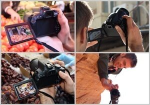 Compose photos and movies from new and interesting angle