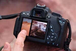 Shoot and focus with a single tap of the camera's touch screen