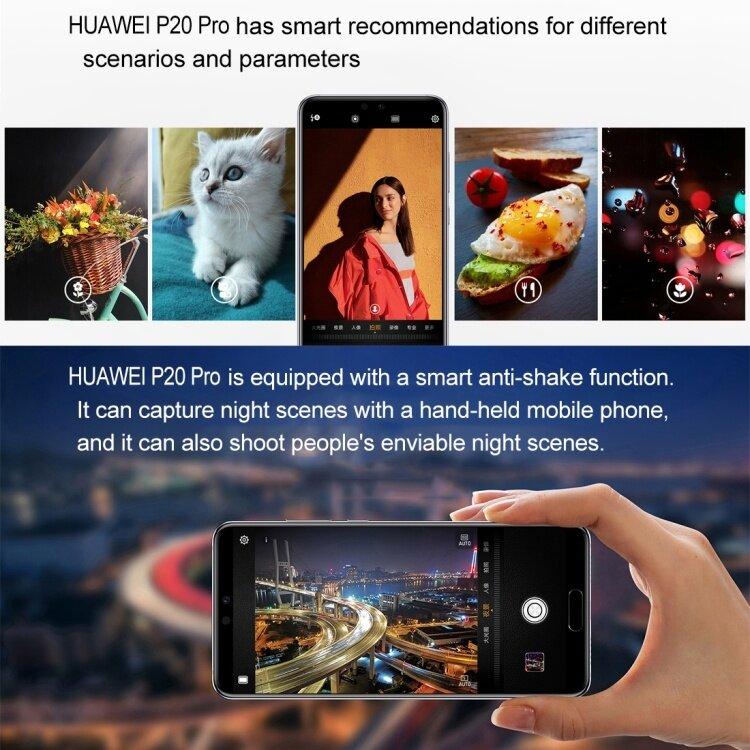 Original Huawei P20 EML-AL00 Celular Android 6GB 128GB 5.8 inch EMUI 8.1 Kirin 970 P20 Pro Smartphone Latest 5G Mobile Phone