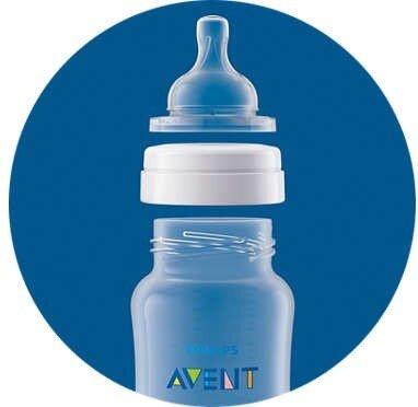 Avent ขวดนม รุ่น Anti Colic 260ml/9oz 1m+ แพ็คสาม (3 ขวด)