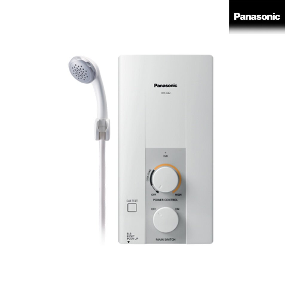 Panasonic electric shower เครื่องทำน้ำอุ่น 3500 วัตต์ รุ่น DH-3JL2TH